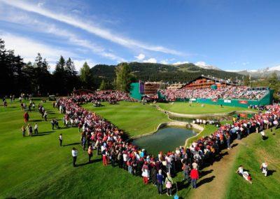 Tournoi de Golf à Crans-Montana CH